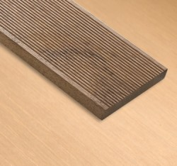 Merbau Solid Decking Reeded